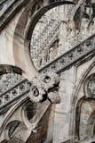 Sonderkommandos der gotischen Architektur Stockbilder