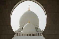 Sonderkommandos von Sheikh Zayed Grand Mosque in Abu Dhabi Lizenzfreies Stockbild