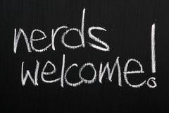 Sonderlings-Willkommen! Lizenzfreie Stockfotos