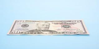 Sondern Sie eine fünfzig-Dollar-Anmerkung aus Stockfotografie