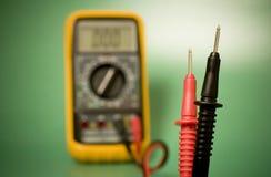 Sondes de multimètre Photos libres de droits