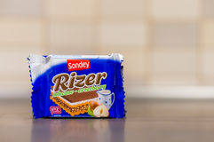 Sondey chocolate wafer Royalty Free Stock Image