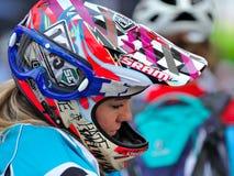 Sondra Williamson- Mountain biker - Enduro racer Stock Photos