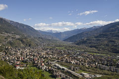 Sondrio Royalty Free Stock Images