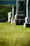 Sone grave markers Stock Photo