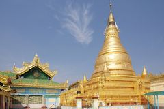 Sone Oo Pone Nya Shin Pagoda, Myanmar Royalty Free Stock Images