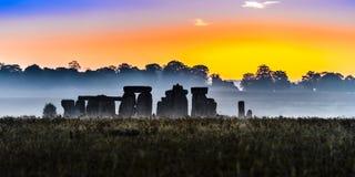 Sonehenge. Stonehenge - prehistoric monument located in Wiltshire, England Royalty Free Stock Image