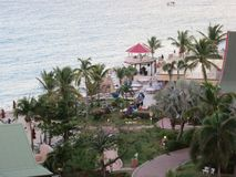 Sonesta-Hotel, Sint Maarten Stockbilder
