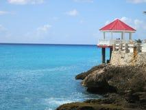 Sonesta Maho Beach, Sint Maarten. Quiet corner at Sonesta Maho Beach Hotel, Sint Maarten stock images