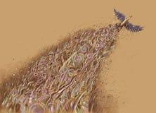 Song of a bird Stock Photos