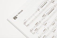 Song book Royalty Free Stock Image