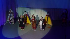 Song Creative Theatre stock footage