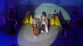 Song Creative Theatre stock video