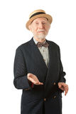 Song and Dance Man. In Vaudeville Style Royalty Free Stock Image