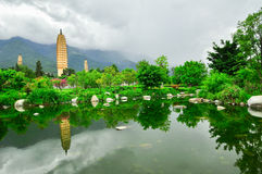 Song dynasty town dali, Yunnan province, China. Royalty Free Stock Image