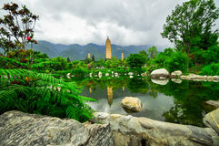 Song dynasty town dali, Yunnan province, China. Royalty Free Stock Photo