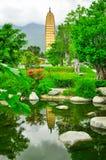Song dynasty town dali, Yunnan province, China. Stock Photos