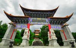 Song dynasty town dali, Yunnan province, China. Stock Photo