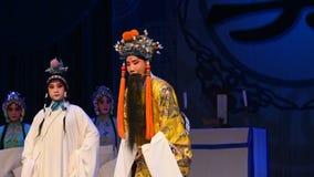 """Song Emperor's speech- Beijing Opera"""" Women Generals of Yang Family"""" stock footage"""