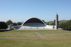 Song Festival Grounds Tallinn Estonia. View of the Song Festival Grounds in Tallinn, Estonia Royalty Free Stock Photo