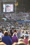 Song festival Riga. Latvia. Royalty Free Stock Image