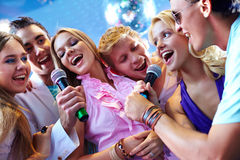 Song of friends Royalty Free Stock Photos