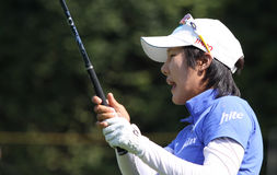 Song Hee Kim Evian Masters 2010 Stock Photography