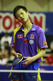 Song Hongyuan. ( China ) , world champion during the world junior table tennis championships in cartagena de indios Royalty Free Stock Photography