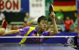 Song Hongyuan. ( China ) , world champion  during the world junior table tennis championships in cartagena de indios Stock Photo