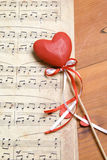 Song of love Royalty Free Stock Image