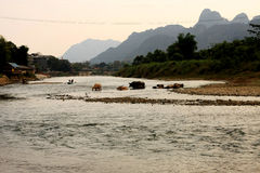 Song river Stock Photography