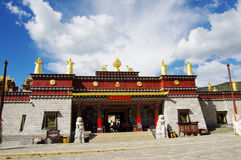 Song zan lin temple in Shangri-la Royalty Free Stock Photo