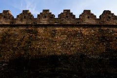 Song Zhaoqing city wall. Eastphoto, tukuchina,  Song Zhaoqing city wall Royalty Free Stock Photography