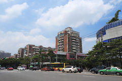 Songbai living community. Urban landscape in amoy city,china Stock Photography