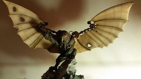 The Songbird. A statue of the Bioshock Infinite game Stock Image