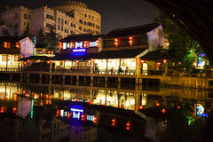 Songcheng. China Jiangsu city of Hangzhou Province, a large cultural landscape Royalty Free Stock Photo