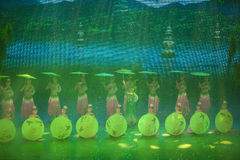 Songcheng eternal love. Hangzhou City, Zhejiang Province, Songcheng China, large-scale song and dance drama Songcheng eternal love Royalty Free Stock Photography
