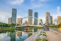 Songdo Central Park Incheon,Seoul Korea Royalty Free Stock Photography