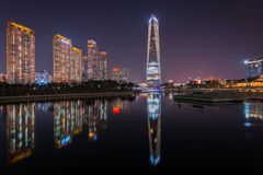 Songdo Central Park , Incheon South Korea. Royalty Free Stock Photography