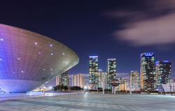Songdo Central Park. In Songdo International Business District, Incheon South Korea Royalty Free Stock Photography