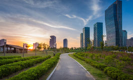 Songdo Central Park in Songdo District, Incheon. South Korea Royalty Free Stock Photo