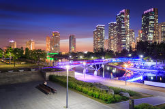 Songdo Central Park in Songdo District, Incheon. South Korea Royalty Free Stock Photos