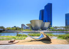 Songdo Central Park in Songdo District, Incheon. Songdo,South Korea - May 05, 2015: Songdo Central Park in Songdo District, Incheon South Korea Stock Photos