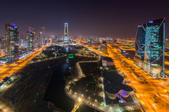 Songdo Central Park in Songdo International Business District, I Stock Photography