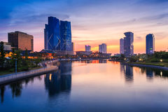 Songdo Central Park in Songdo Stock Photography