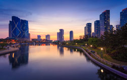 Songdo Central Park in Songdo Royalty Free Stock Images