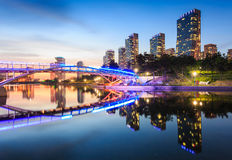 Songdo Central Park in Songdo. International Business District, Incheon South Korea stock photography