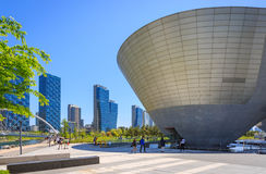 Songdo Central Park. Songdo,South Korea - May 05, 2015: Songdo Central Park in Songdo District, Incheon South Korea stock images