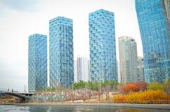 Songdo-International-Geschäftsgebiet Stockfotografie