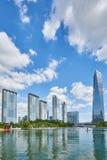 Songdo, Korea - September 07, 2015: Songdo IBD. Songdo, Korea - September 07, 2015: Songdo International Business District (Songdo IBD) is a new smart city built Royalty Free Stock Photography